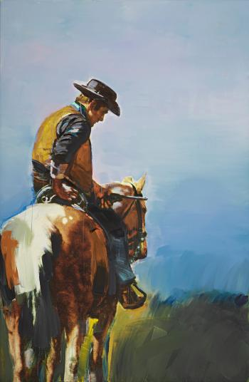 Untitled (Cowboy) by 