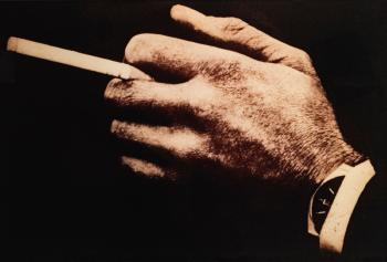 Untitled (Man's Hands With Cigarette Watch) by  Richard Prince