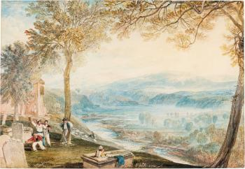 Kirkby Lonsdale Churchyard, Westmorland by 