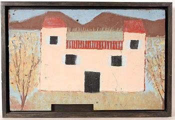 House Of 1000 Paintings By Sanford Darling Blouin Art Sales Index