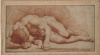 That Reclining male nude think, that